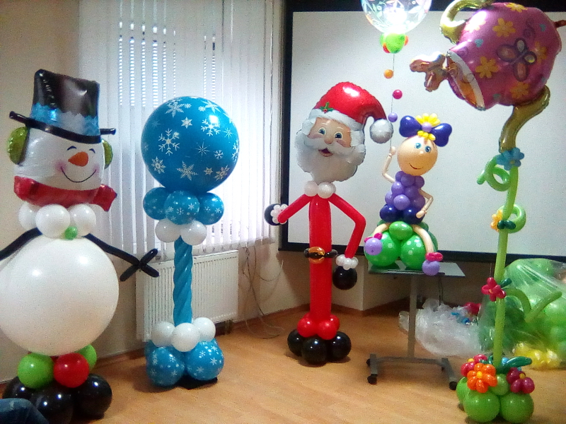 семинар о воздушных шарах в Вологде
