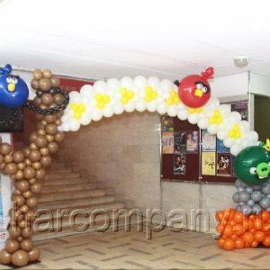 Арка «Angry Birds»