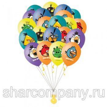 Гелиевые шары «Angry Birds»