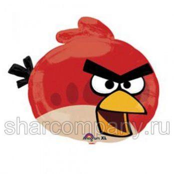 Фольгированный шар «Angry Birds» (красная птичка)