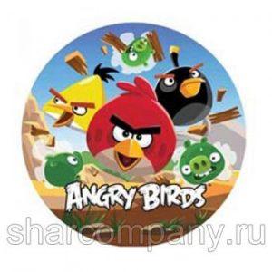 Фольгированный шар «Angry Birds»