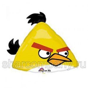 Фольгированный шар «Angry Birds» (желтая птичка)