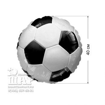 Фольгированный шар «Футбольный мяч. Стандарт»