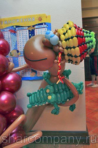 Растаман из шариков