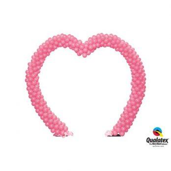 Арка из шаров «В форме сердца»