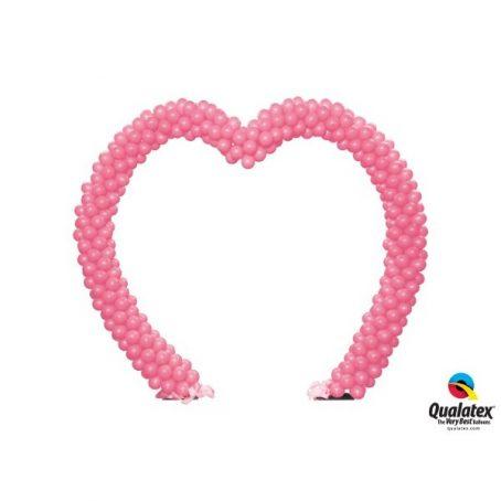 арка в форме сердца