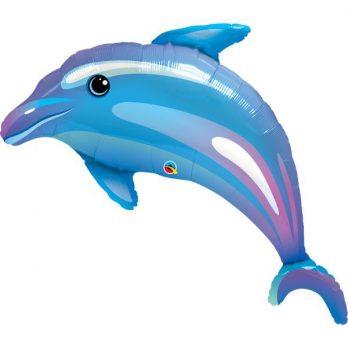 фольгированный шар дельфин