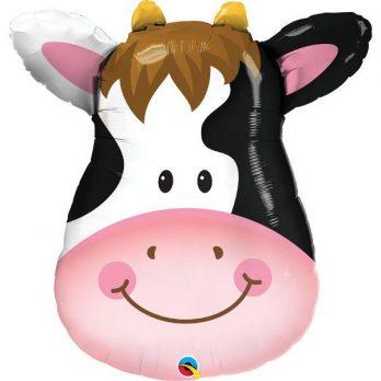 шар голова коровы