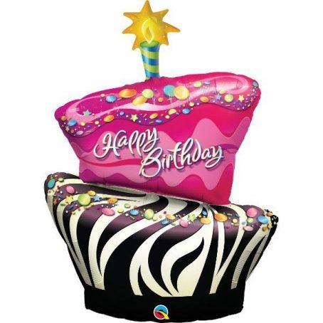 фольгированный шар торт
