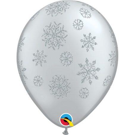 латексный шар - снежинки