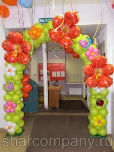 шары для поздравления с 8 марта