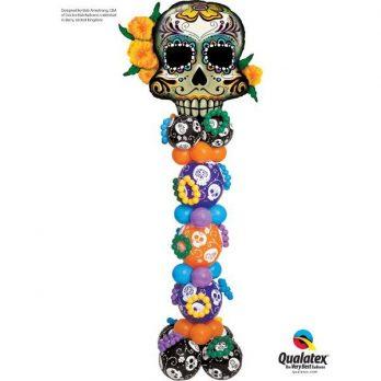 Стойка из шаров «День мертвых»
