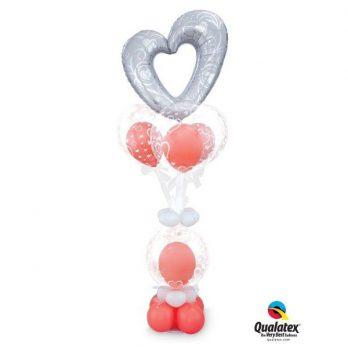 Букет из шаров «Я тебя люблю!!!»