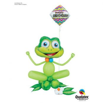 Фигура из шаров «Счастливый лягушонок»
