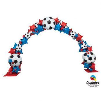 Арка из шаров «Победа в матче»