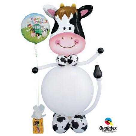 корова из шаров