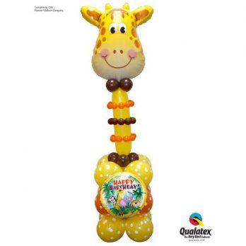Стойка из шаров «Жираф»