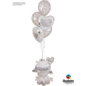 Букет из шаров «Свадебные поздравления»