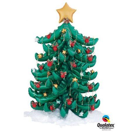 рождественская ель из шариков
