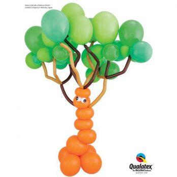 Фигура из шаров «Глупое лесное дерево»