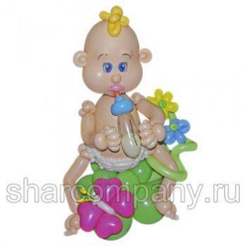 Фигура из шаров «Пупсик»