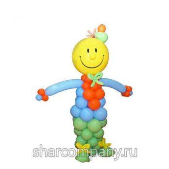 Фигура из шаров «Клоун Фунтик»