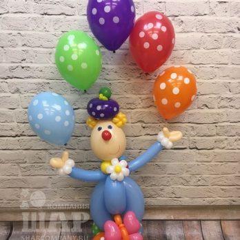 клоун фотя из шариков