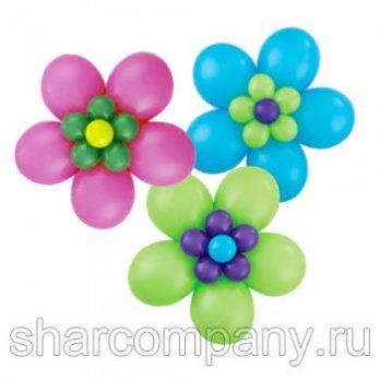 Фигура из шаров «Цветы из воздушных шаров»