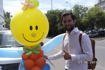 клоун Фунтик из шариков