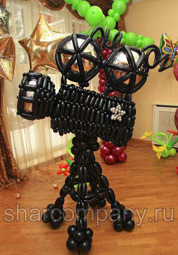 кинокамера из воздушных шаров