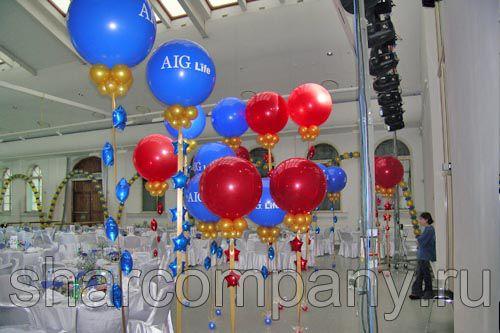 Украшение корпоративного праздника компании AIG Life