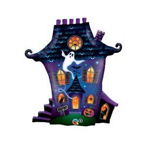 Фольгированный шар Дом с привидениями