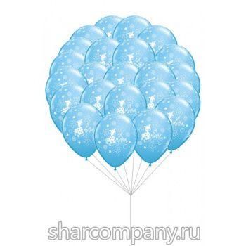 Гелиевые шары - Ура я мальчик!!!