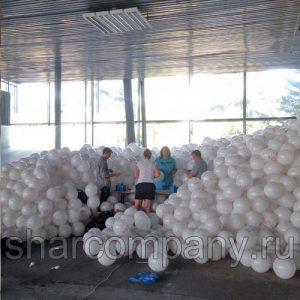 200.000 воздушных шаров с логотипом