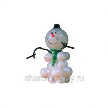 Фигура из шаров «Большой снеговик»
