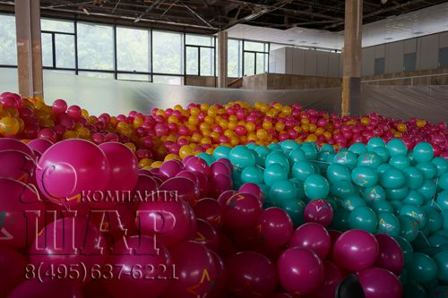 рекламная раздача 40.000 шаров