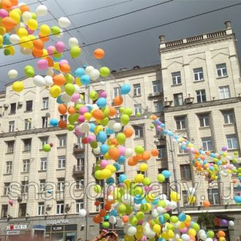 Запуск и сброс воздушных шаров