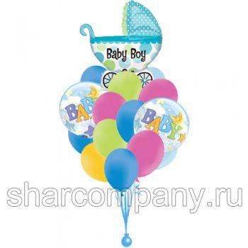 """Букет из шаров """"Для малыша"""""""