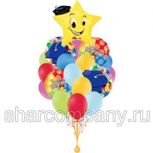 Букет из шаров «Выпускник»