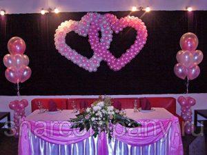 Свадьба в бело-розовых тонах
