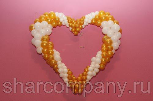украшение шарами свадьбы в гостинице турист