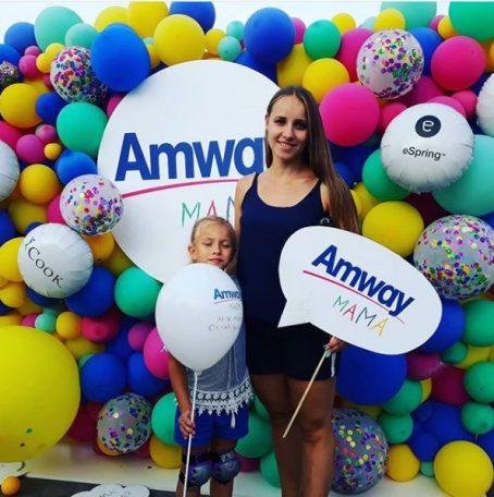 Фотозона для компании Amway
