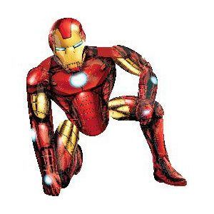 Ходячий шар «Железный человек»