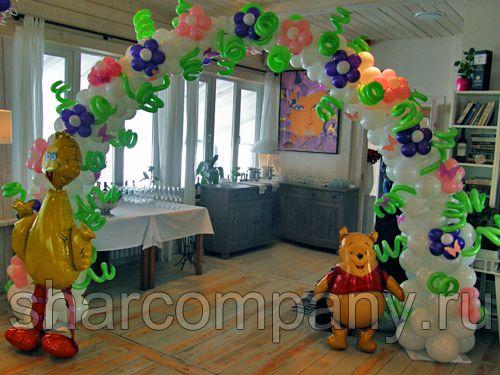 Оформление детского праздника в ресторане Причал