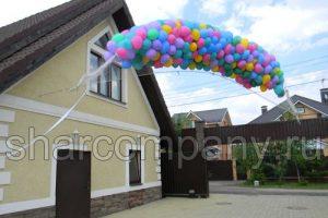 Украшение детского праздника шарами