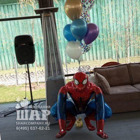 "Ходячий шар ""Человек- Паук"""