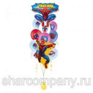 Букет из шаров «Человек — паук»