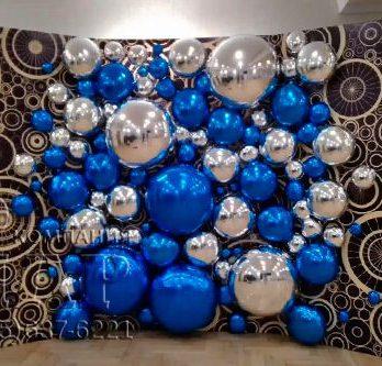 панно из воздушных шариков