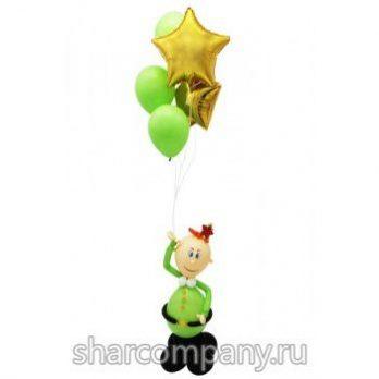 Фигура из шаров «Призывник»