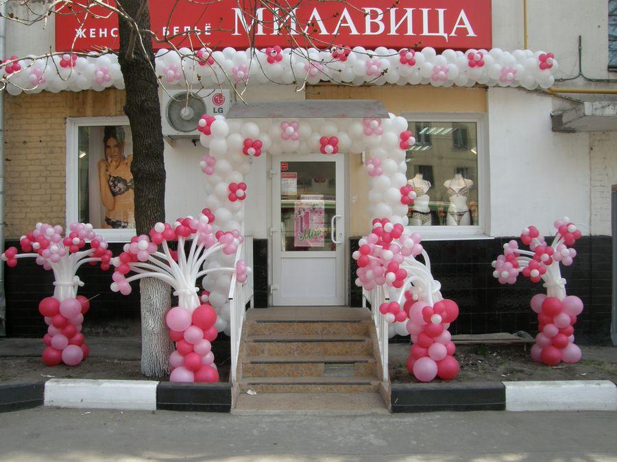 Оформление магазина Милавица